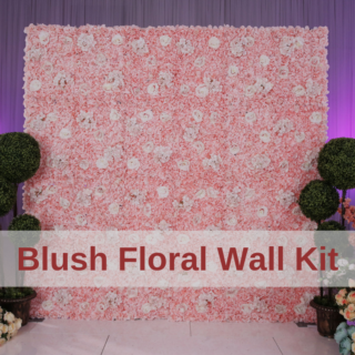 Blush Floral Wall Kit